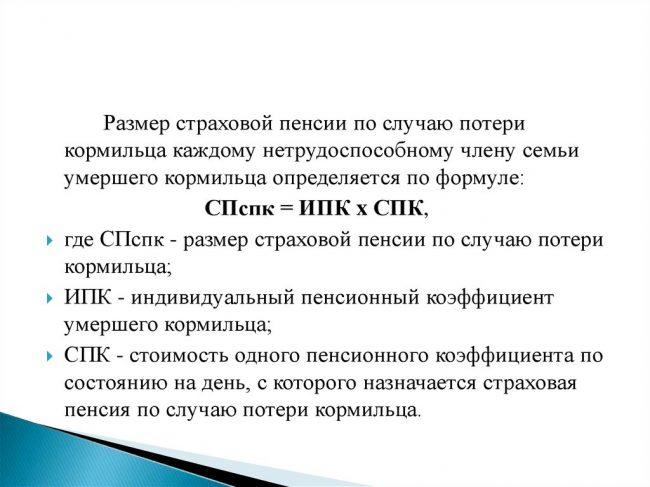 Пенсия по потере кормильца в Москве